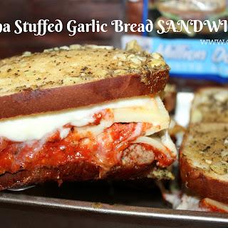 ~Lasagna Stuffed Garlic Bread Sandwiches!.