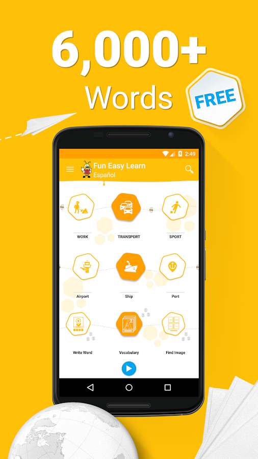 Learn Spanish Vocabulary - 6,000 Words- screenshot