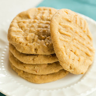 Chunky, Chewy Peanut Butter Cookies.