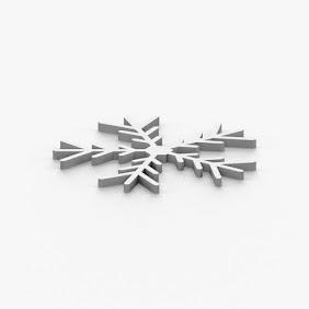 雪の結晶コースターC