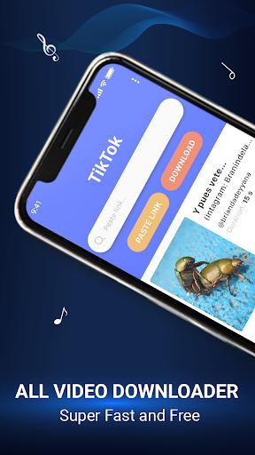TikDown No Watermark - Video Downloader for Tiktok 1.0.9 screenshots 1
