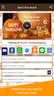 Thanksgiving Cards, Wishes and Greetings - náhled