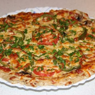Chicken Pizza without any flour
