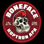 Logo for Boneface Brewing Company