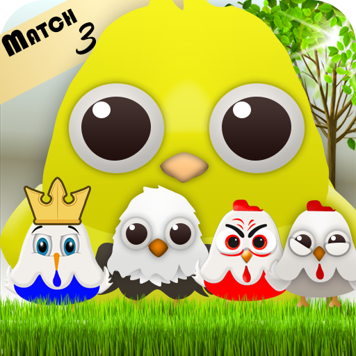 Birds Mania Pop: Match 3