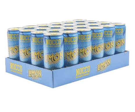Nocco BCAA 24 x 330ml - Limón Del Sol