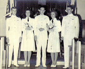 Photo: L to R Jim West, Helen Gajda, Ed Arledge, Val Arledge, Tom McMaster 1946
