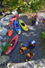 Photo: Getting kayak gear together at Jamaica State Park by Linda Carlsen-Sperry.