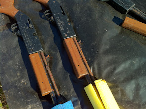 Photo: Rusted BB guns