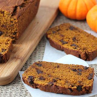 Vegan Gluten Free Pumpkin Chocolate Chip Bread