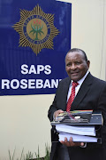 Gideon Sam of Sascoc during the South African Sports Confederation and Olympic Committee's (SASCOC) Annual General Meeting at Olympic House on February 10, 2018 in Johannesburg, South Africa. After the meeting, Gideon Sam, Sascoc president handed more than 400 pages in at the Rosebank Police Station in the body's complaint against the three senior employees who were fired last month. Tubby Reddy, CEO, Vinesh Maharaj, CFO and Jean Kelly, executive manager were dismissed after a lengthy investigation. The case was then transferred to the Norwood Police Station.