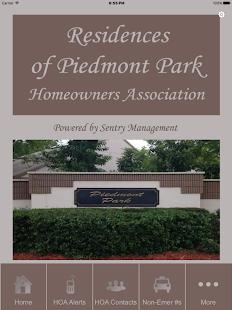 Piedmont Park HOA - náhled