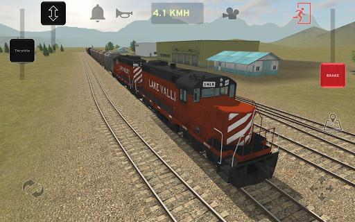 Train and rail yard simulator MOD, Unlimited Money
