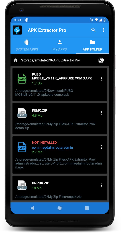 APK EXTRACTOR PRO Screenshot 2