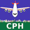Copenhagen Kastrup Airport: Flight Information icon
