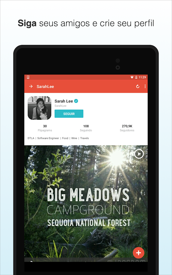 Flipagram- screenshot