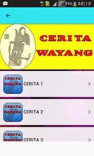 Cerita Wayang - náhled