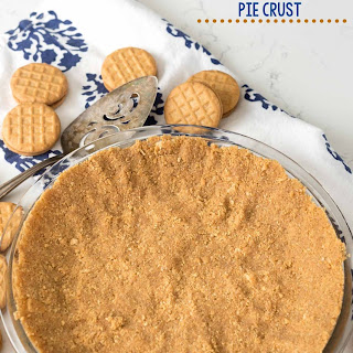 Easy No Bake Peanut Butter Cookie Crust