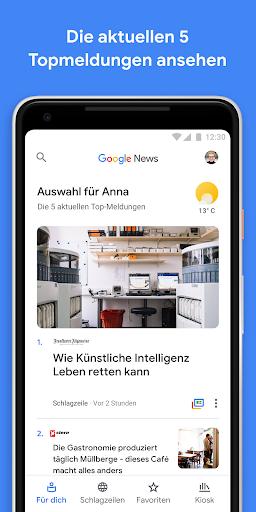google news auf deutsch umstellen