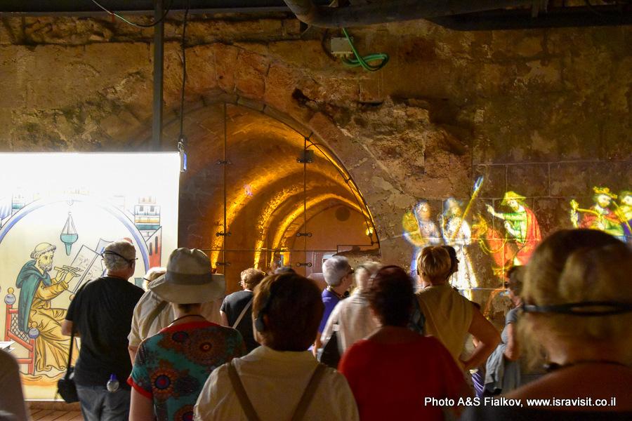 Экскурсия в крепости крестоносцев - Госпитальеров в Акко, Израиль. Гид Светлана Фиалкова.