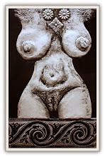 Photo: Antonio Berni Ramona desnuda 1964. Xilo-collage-relieve. Matriz xilográfica: 35,6 x 22,2 cm. Estampa: 45,1 x 32,4 cm. Colección particular, Houston, EE.UU. Expo: Antonio Berni. Juanito y Ramona (MALBA 2014-2015)