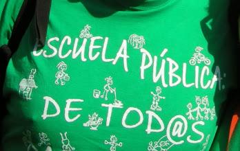 Photo: Manifestación del 22 de octubre de 2011 en favor de  la Educación Pública (Atocha-Sol) 3