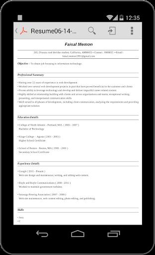 Super Resume Builder Pro, CV Apk | Download Only APK file for Android