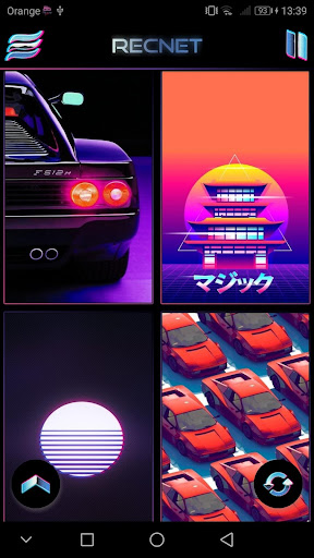 PC u7528 Retrowave Wallpapers PRO (Live Walls,GIFs & Radio) 1
