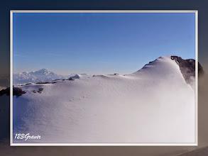 Photo: Mont-Blanc et sommet de la Grande Casse