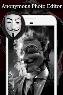 Anonymous Mask Photo Editor Free 6
