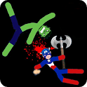 Stickman Warriors Online icon