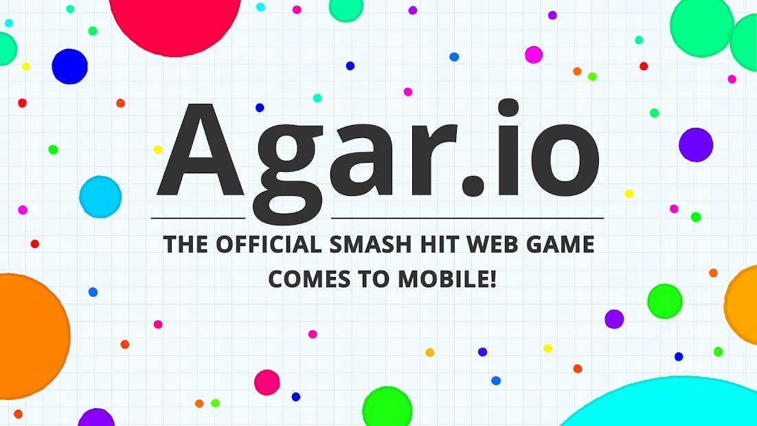 Agar.io Android App Screenshot