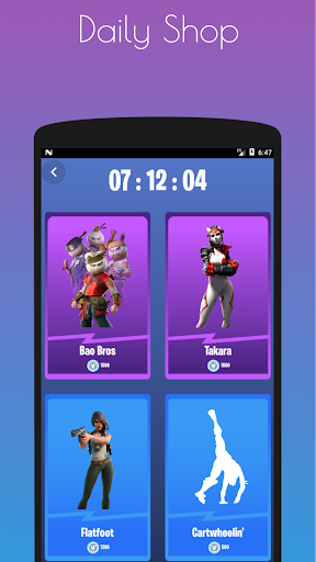 Emotes Ringtones And Daily Shop for Battle Royale screenshot 3