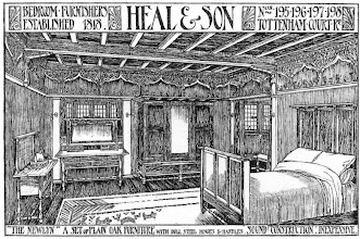 Photo: arts and crafts bedroom set , 1898