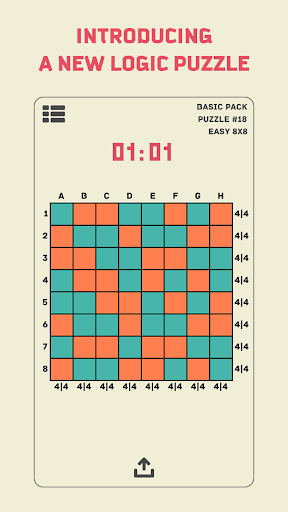Notrio: Colored Binary Puzzle