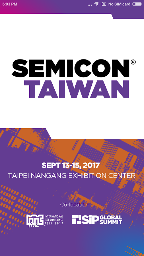 SEMICON Taiwan 2017- screenshot