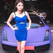Hot Race Car Girls Asia