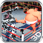 Real robot Ring Sumo Wrestling Revolution Battle