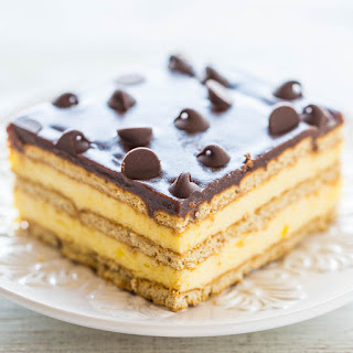 Boston Cream Icebox Cake