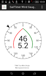 SailTimer Wind Gauge™- screenshot thumbnail