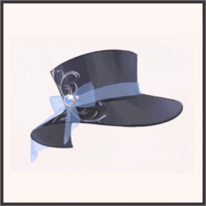 R-サファイアの礼帽