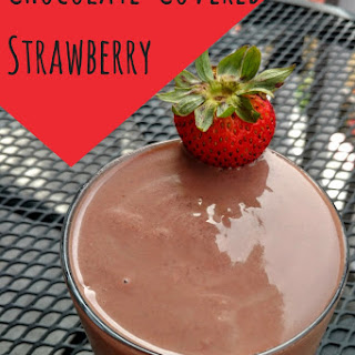 Chocolate-Covered Strawberry Black Bean Smoothie