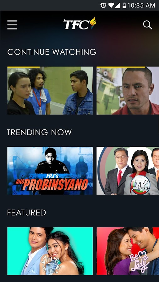 Tfc watch pinoy tv amp movies google play android