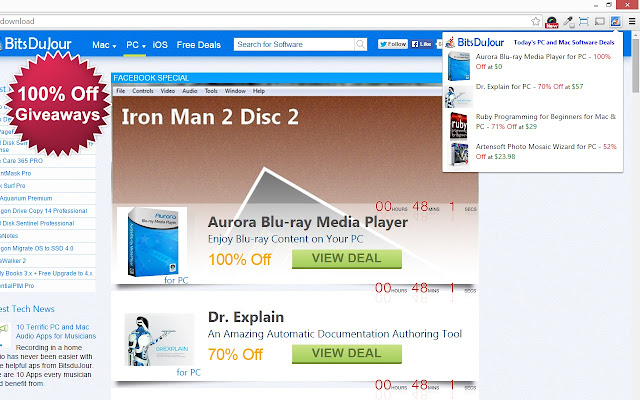 PC and Mac Software Deals from BitsDuJour