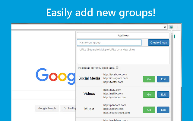URL Group Manager