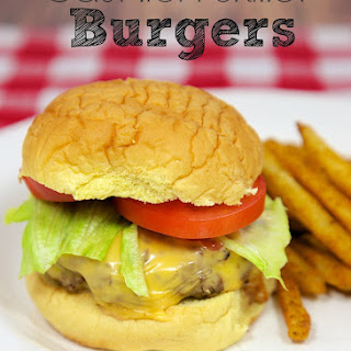 Cast Iron Skillet Burgers