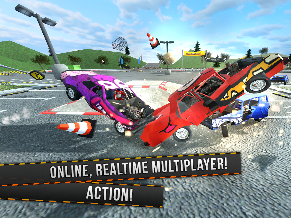 Demolition Derby Multiplayer- screenshot