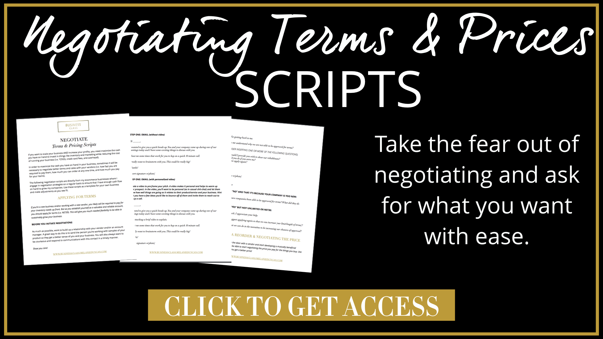 """61468a4a9 Don t forget to click here to download your Negotiating Terms   Pricing  Scripts to give you the best possible starting point for getting to a """"yes""""  in your ..."""