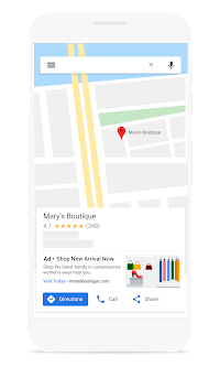 local campaigns on google maps