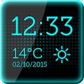 Black Digital Clock icon